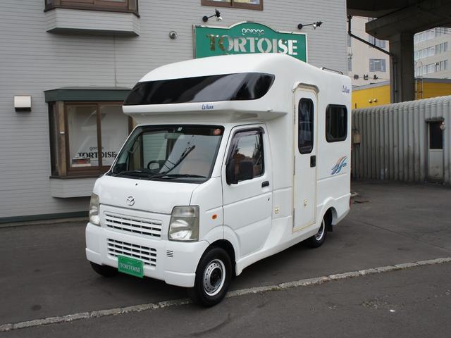 マツダ キャンピング AZ-MAX製ラクーン4WD