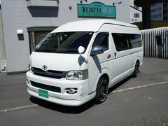ハイエースバントヨタテックス大阪キャンピング4WD