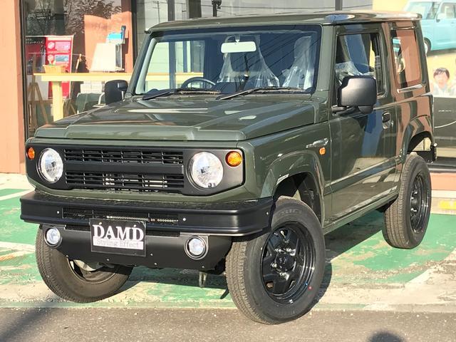 スズキ ジムニー XG 4WD 届出済未使用車 キーレス マニュアル ダムドエアロ