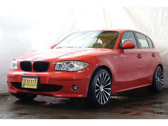 BMW 118i HID 純正アルミ 純正CD ETC デュアルAC