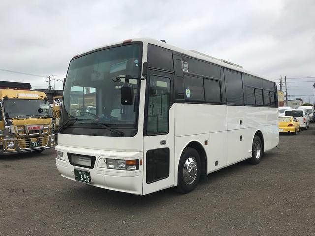日産ディーゼル 日産ディーゼル バス MT AW ホワイト 車椅子リフト付き