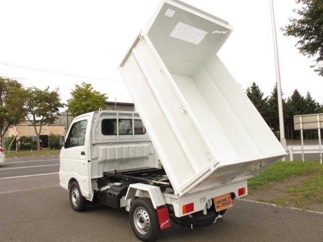 日産 DX ダンプ 4WD 寒冷地仕様 マニュアル5速 エアコン パワステ