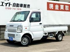 キャリイトラックKC 4WD 3ヶ月保証付 エアコン パワステ