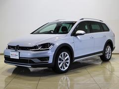 VW ゴルフオールトラックTSI 4モーション 純正ナビTV LEDヘッドライト