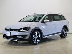 VW ゴルフオールトラックTSI 4モーション Aクルコン 純正ナビTV LED