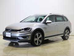 VW ゴルフオールトラックTSI 4モーション Aクルコン LEDライト 純正18AW