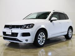 VW トゥアレグV6 ブルーモーションテクノロジー エアサス 純正ナビTV