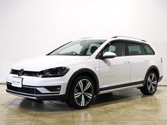 VW ゴルフオールトラックTSI 4モーション 純正ナビTV レザーシート サンルーフ