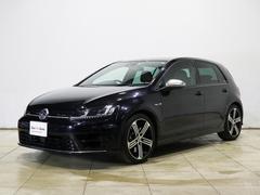 VW ゴルフRベースグレード レザーシート・純正ナビTV・禁煙車