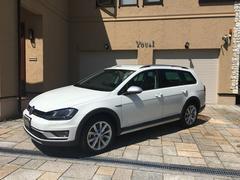 VW ゴルフオールトラックTSI 4MOTION UpgredePKG レザーPKG