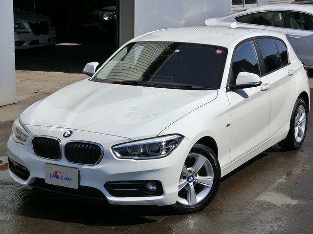 BMW 1シリーズ 118i スポーツ 後期型 本州仕入車 インテリジェントセーフティー アイドリングSTOP