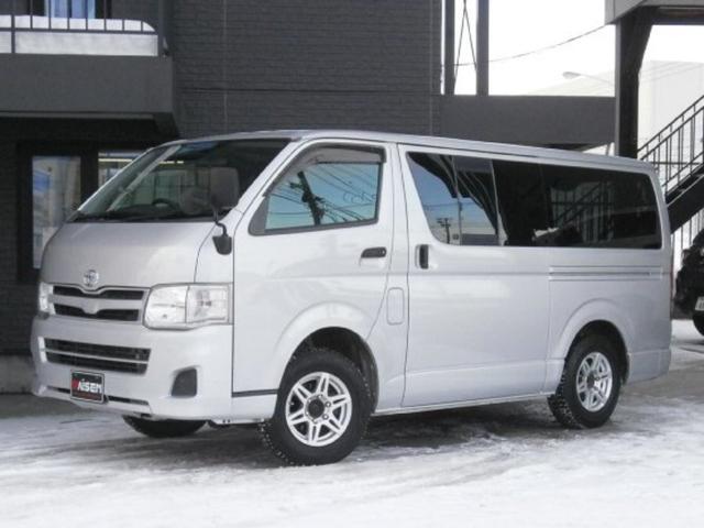 トヨタ ロングDX 5ドア 6人乗 ディーゼルターボ 4WD ドアバイザー ETC キーレス 15インチAW ABS エアバック パワーウィンドウ 前後バンパーボディ同色塗装済