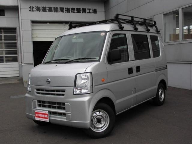 日産 DX パートタイム4WD CD ETC ルーフキャリア付