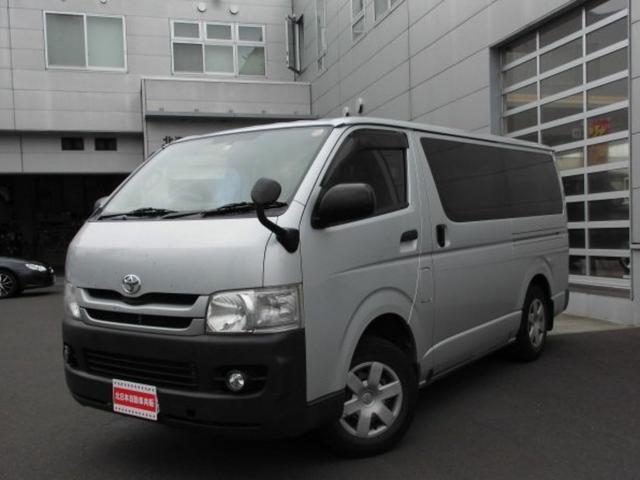 ハイエースバン ロングDX 4WD CD ディーゼル 寒冷地仕様 3人乗(トヨタ)