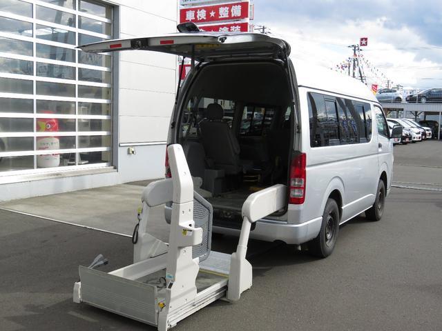 トヨタ 車いす2基 Bタイプ 4WD スイングアームリフト 寒冷地