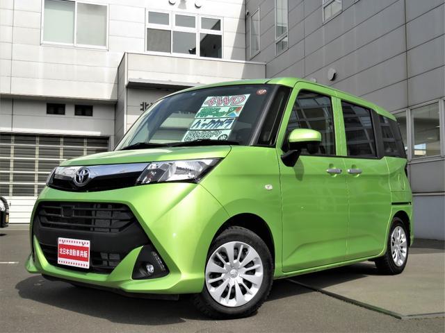 トヨタ タンク X 4WD メモリーナビ フルセグ バックカメラ CD