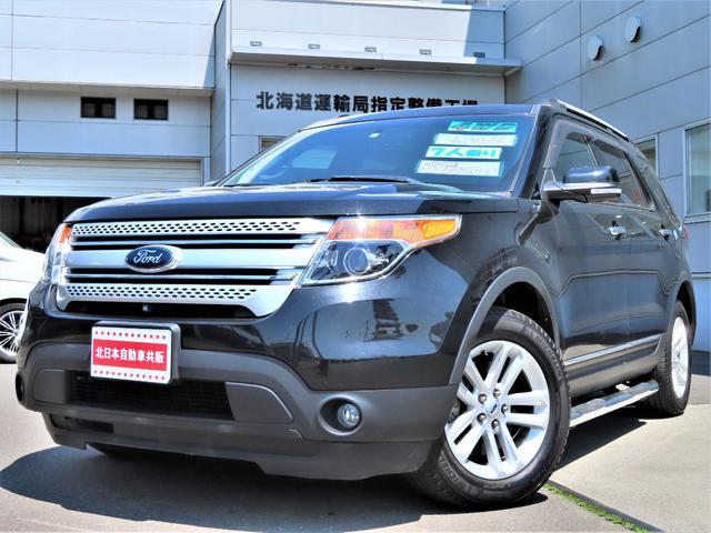フォード XLT 4WD CD/Bluetooth・B/S/Fカメラ・ETC・クルコン・7人乗り・パワーシート・ディーラー車・左ハンドル・夏冬タイヤ有
