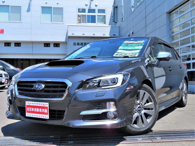 スバル レヴォーグ 1.6GT-Sアイサイト プラウドエディション 4WD アドバンスドセーフティパッケージ・衝突軽減ブレーキ・ナビ・地デジ・CD/DVD/BT・B/Sカメラ・キーレスアクセス・パワーシート・ETC・パドルシフト・SIドライブ・レーダークルコン