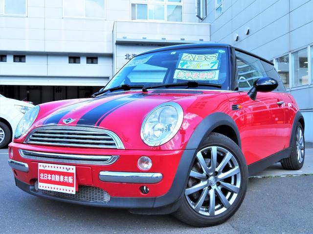 MINI クーパー ポータブルナビ・ワンセグ・CD・サンルーフ・ETC・右ハンドルディーラー車・キーレス