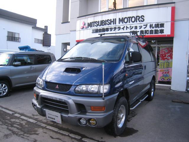 三菱 エクシード ハイルーフ 4WDクリスタルライトル ETCーフ