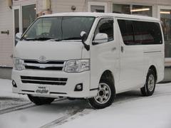 レジアスエースバンロングスーパーGL 3L DT 4WD 3型パールホワイト