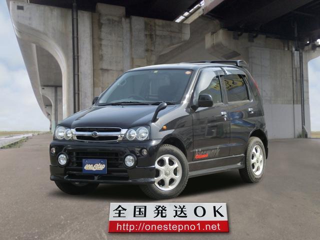 ダイハツ キスマークX 4WD 純正エアロ 社外ナビ ETC フォグ