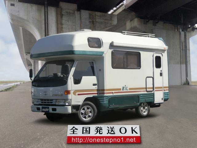 トヨタ バンテック ZIL 2.8D キャンピング 4WD