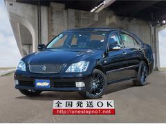 クラウンアスリートi−Four 4WD プッシュS ブラック