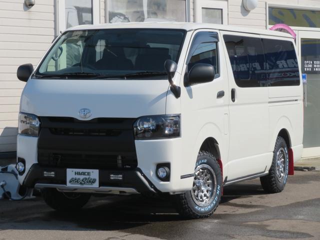 トヨタ ハイエースバン ロングDX 4ドア3.0ディーゼルオフロードパッケージ4WD 管111