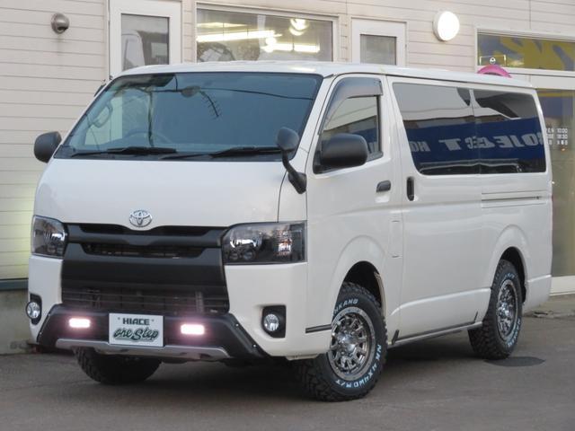 トヨタ ハイエースバン ロングDX 5ドア3.0ディーゼルオフロードパッケージ4WD 管理番号103