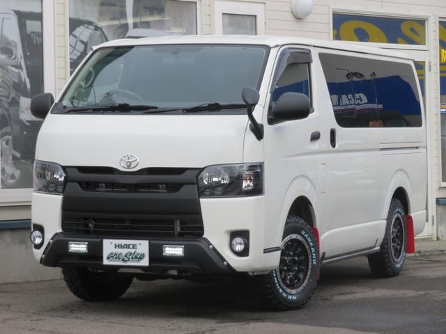 トヨタ ハイエースバン ロングDX 3.0D-T 4WD 寒冷地仕様 リアヒーター・リアクーラー付き