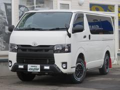 ハイエースバンロングDX 3.0D−T 4WD 5ドア寒冷地仕様 リアヒーター・リアクーラー付き 管109