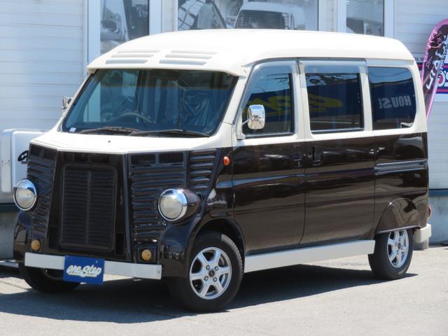 ホンダ バモスホビオプロ  フレンチバス仕様4WD車
