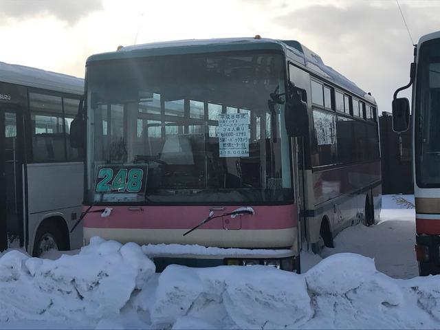 日産ディーゼル スペースランナー 34乗 燃焼ヒーター付 バックカメラ バス