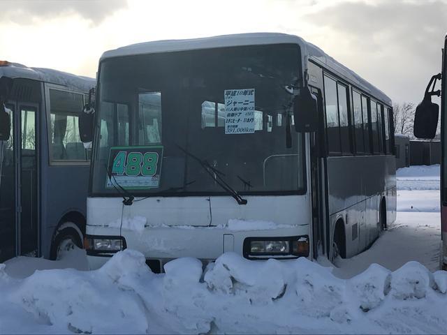 いすゞ 大型バス 41人乗り ヒーター付 バックモニター付