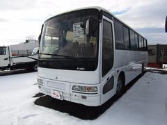 三菱ふそうエアロミディ 大型バス 47人乗り プレヒーター 自動ドア