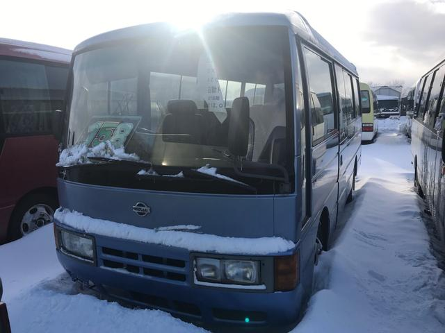 日産 DX 26人乗りバス 自動ドア クーラー