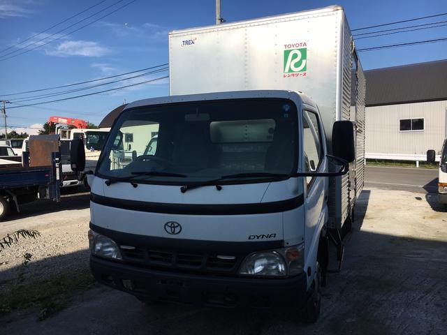 トヨタ 2t積 パネルバン Pゲート