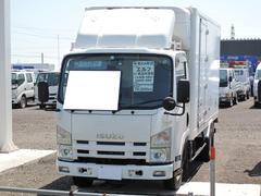 エルフトラックパネルバン 冷凍車 4WD