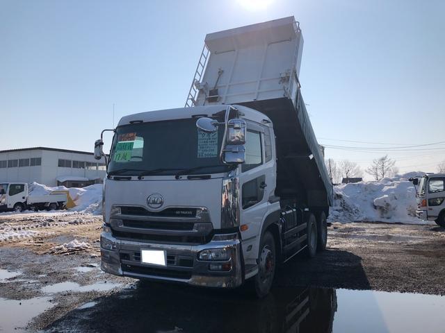 UDトラックス 6MT フル装備 ベット付