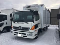 ヒノレンジャー2.3t積 冷凍冷蔵車 パネルバン ワイドロング ベット付
