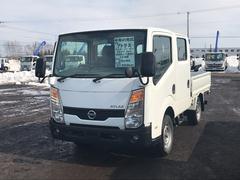 アトラストラックWキャブ フルスーパーロー 4WD 平ボディ フル装備