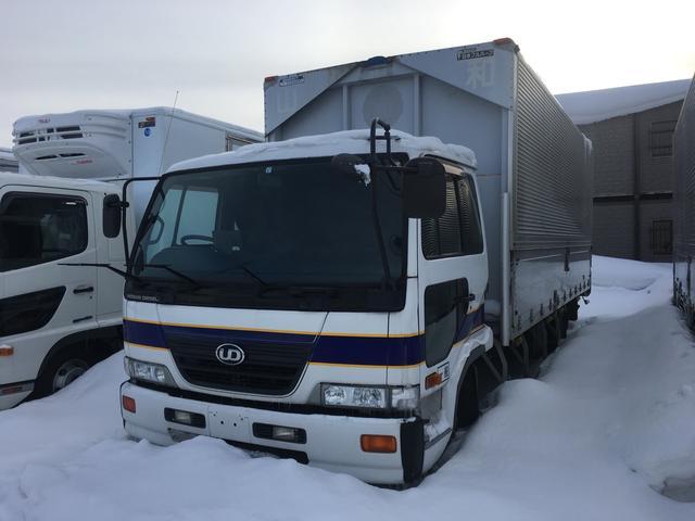 UDトラックス アルミウイング 3.1t積 6MT パネルバン