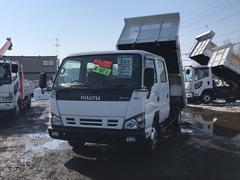エルフトラックWキャブロングダンプ 2000kg積 5MT 2WD