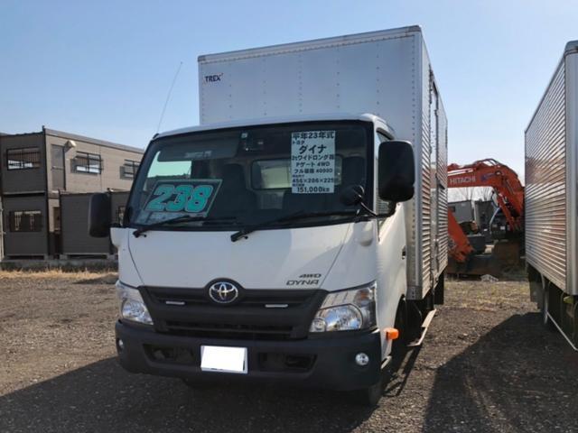 トヨタ 4WD 2t パネルバン トラック エアコン 5MT