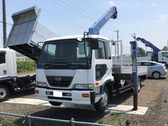 コンドル4t クレーン付 トラック エアコン 6MT