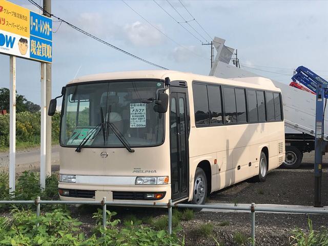 日野 メルファ バス 42人乗り パワーヒーター付 自動ドア