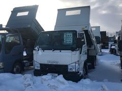 エルフトラック2t積み ダンプ 5MT フル装備 4WD