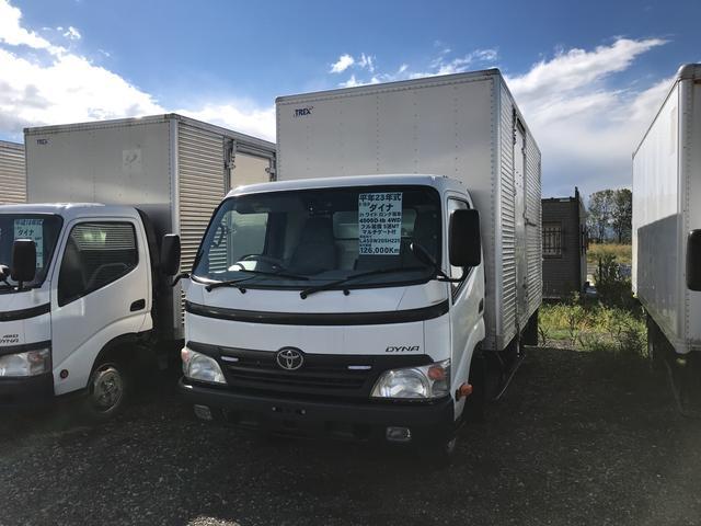 トヨタ ワイド ロング 4WD 2t積 パネルバン トラック