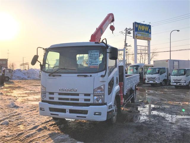 いすゞ クレーン付 2650kg積 4段R/C フックイン